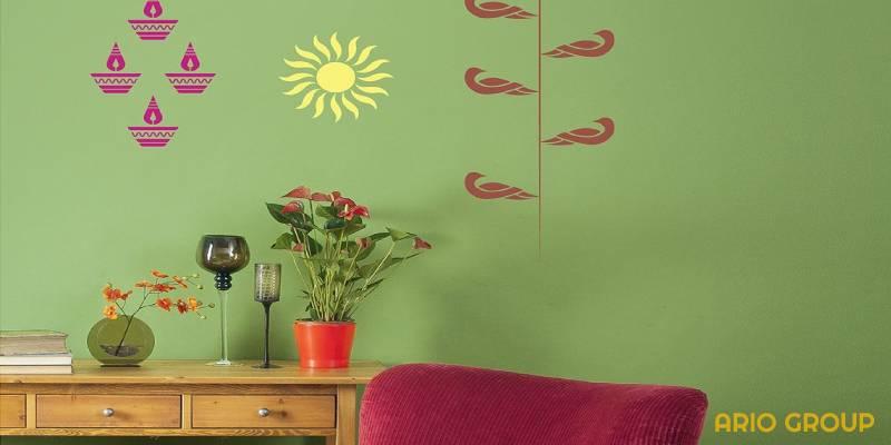 تجهیزات رنگ ساختمانی در نقاشی ساختمان_آریو رنگ دماوند