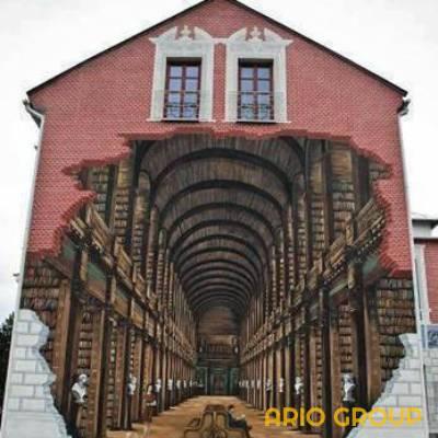 رنگ ساختمانی سه بعدی 4
