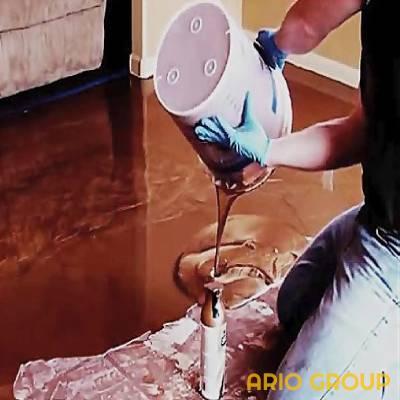 رنگ های کفپوش اپوکسی مایع 4