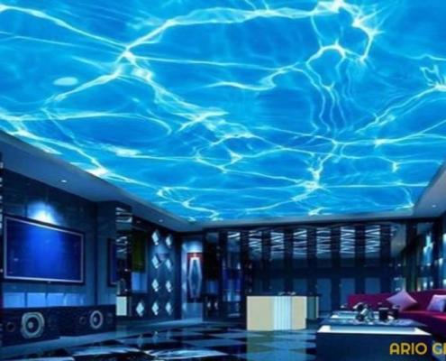 اپوکسی سه بعدی سقف_آریو رنگ دماوند