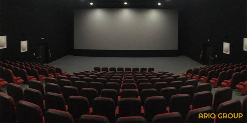 نگهداری آسان کفپوش سالن سینما