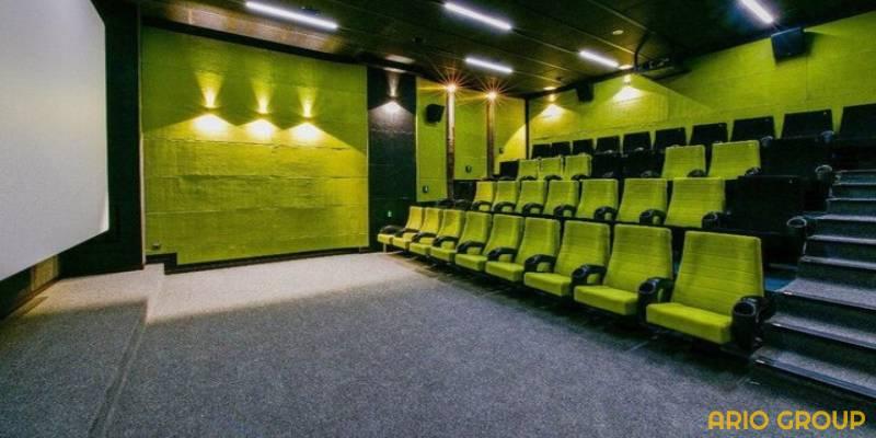تنوع کفپوش سالن سینما
